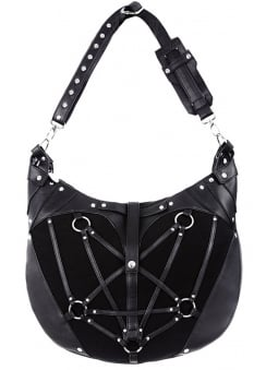 Pentagram Gothic Hobo Bag