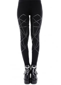 Pentagram Gothic Leggings