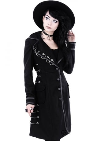 Restyle Pierced Gothic Coat