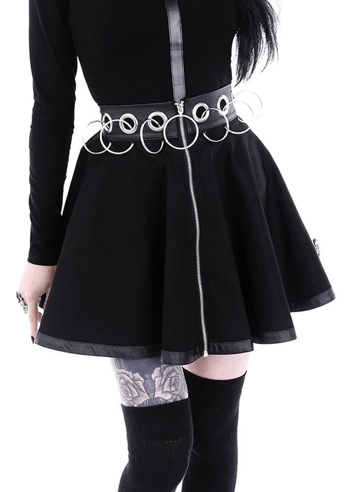 Restyle Rebel Gal Gothic Skirt | Attitude Clothing