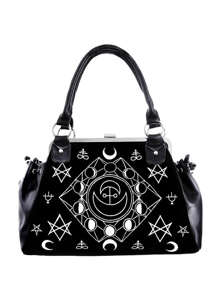 Restyle Symbolic Gothic Frame Bag | Attitude Clothing