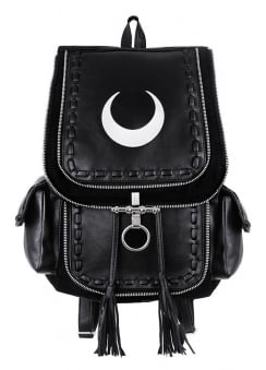 White Crescent Backpack