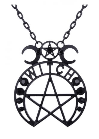 Restyle Witch Moon Gothic Pendant