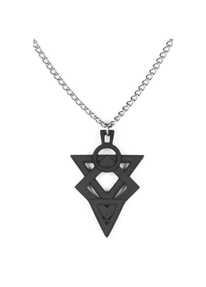 Rogue & Wolf Glyph Of Hatred Necklace