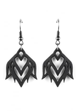 Rogue & Wolf Lotus Awakens Earrings