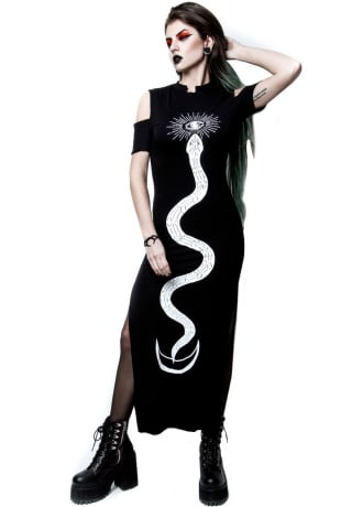 Rogue & Wolf Serpent Oracle Long Gothic Dress