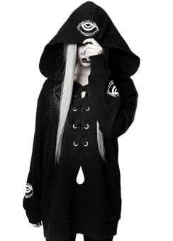 Shaman's Eye Oversized Gothic Jumper