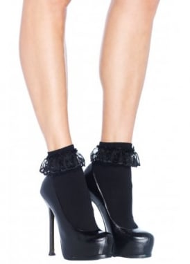 Ruffled Ankle Socks