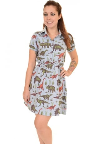 Run & Fly Adventure Dinosaur Skater Dress
