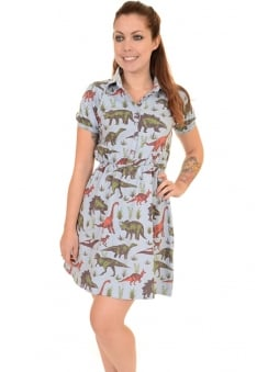 Adventure Dinosaur Skater Dress