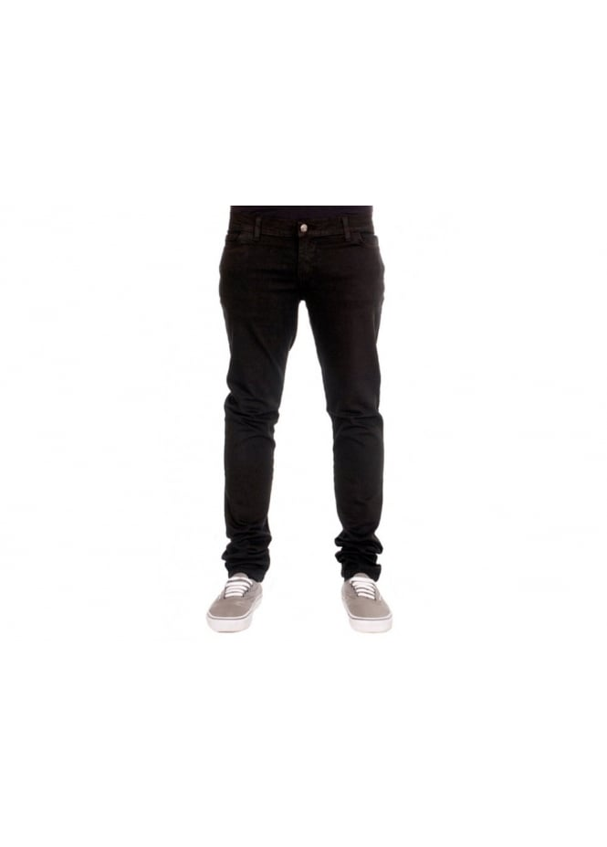 Run & Fly Black Stretch Jeans