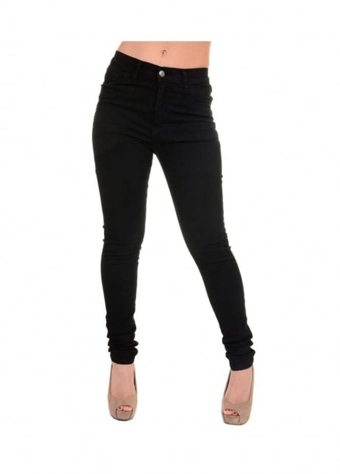 Run & Fly High Rise Stretch Skinny Jeans