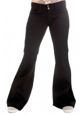 Retro Stretch Kick Flares