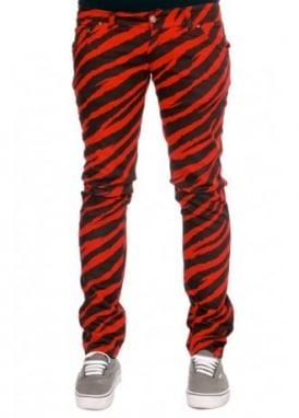Zebra Stretch Jeans