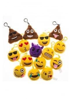 Scented Emoji Keychain