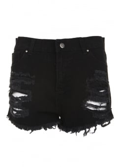 Shredded Ripped Shorts