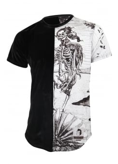 Skeleton Venus Velvet T-Shirt