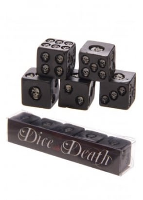 Skull Dice With Death Set