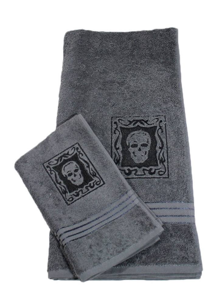 Skull Towel Set Attitude Clothing