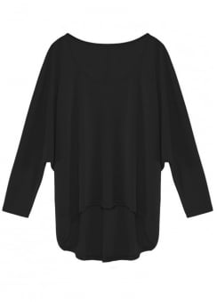 Slouchy Batwing Top
