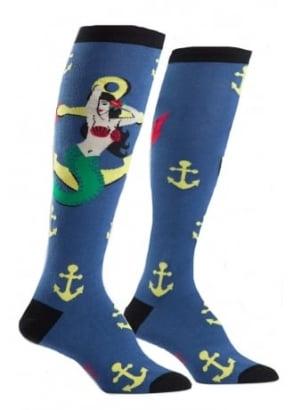 Hey Sailor Knee High Socks