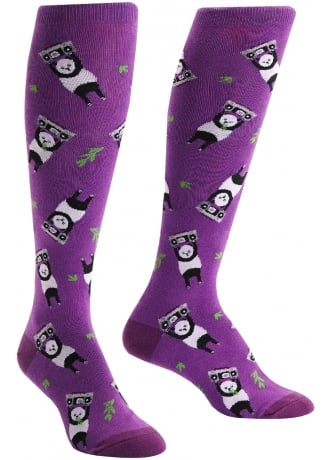 Sock It To Me Panda Anything Knee High Socks