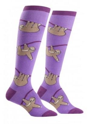 Sloth Knee High Socks