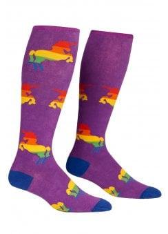 4665e2400 STRETCH-IT™ Pride   Fabulous Knee High Socks