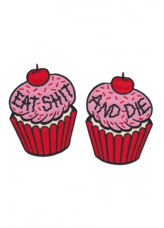 Sourpuss Clothing Cupcakes Patch Set