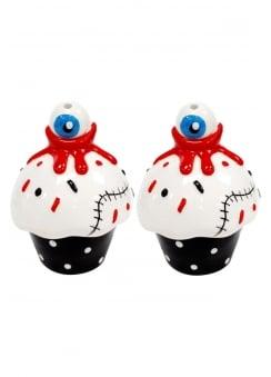 Eyeball Cupcakes Salt & Pepper Shakers