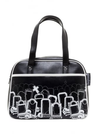 Sourpuss Clothing Grave Digger Bowling Bag