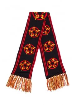 Hail Pizza Knit Scarf