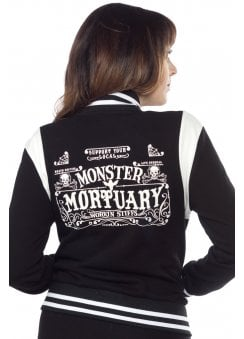 Monster Mortuary Varsity Jacket
