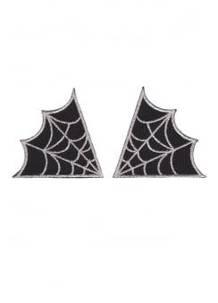 Spiderweb Collar Patches