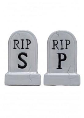 Tombstone Salt & Pepper Shakers