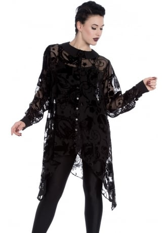 Spin Doctor Amoret Gothic Plus Size Blouse