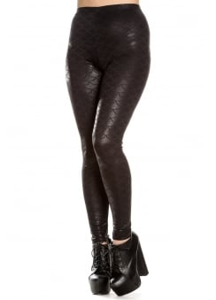Neptune Gothic Leggings