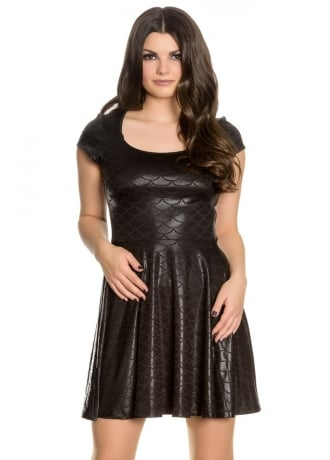 Spin Doctor Neptune Gothic Mini Dress