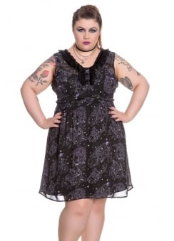 Shadow of Zennor Plus Size Gothic Dress