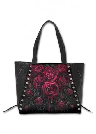 Spiral Direct Blood Rose Tote Bag