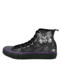 Bright Eyes Gothic High Top Sneakers