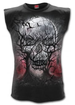 Dark Roots Gothic Sleeveless T-Shirt