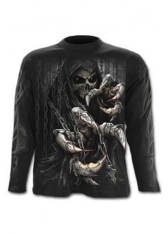 Death Claws Long Sleeve Gothic T-Shirt