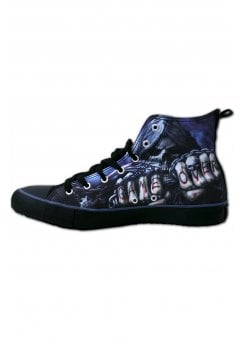d8ef80144d15 Game Over Gothic High Top Sneakers · Spiral Direct ...