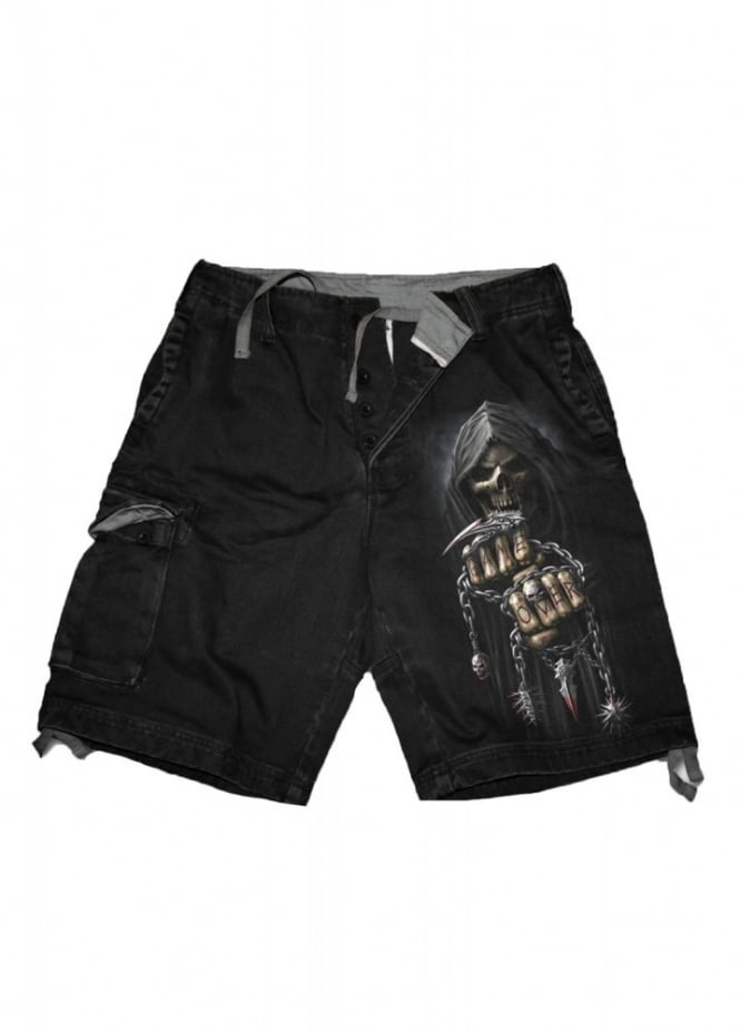 Spiral Direct Game Over Vintage Cargo Shorts
