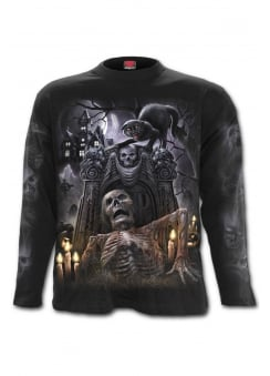 Living Dead Long Sleeve Gothic T-Shirt