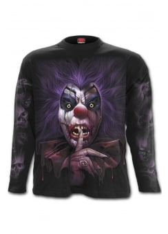 Madcap Long Sleeve Gothic T-Shirt
