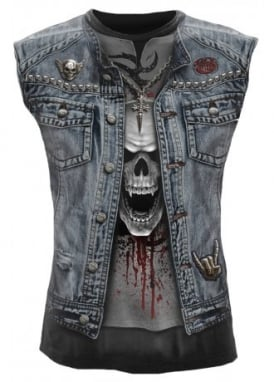 Thrash Metal Sleeveless T-Shirt