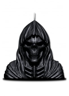 Wax Reaper Candle With Skull