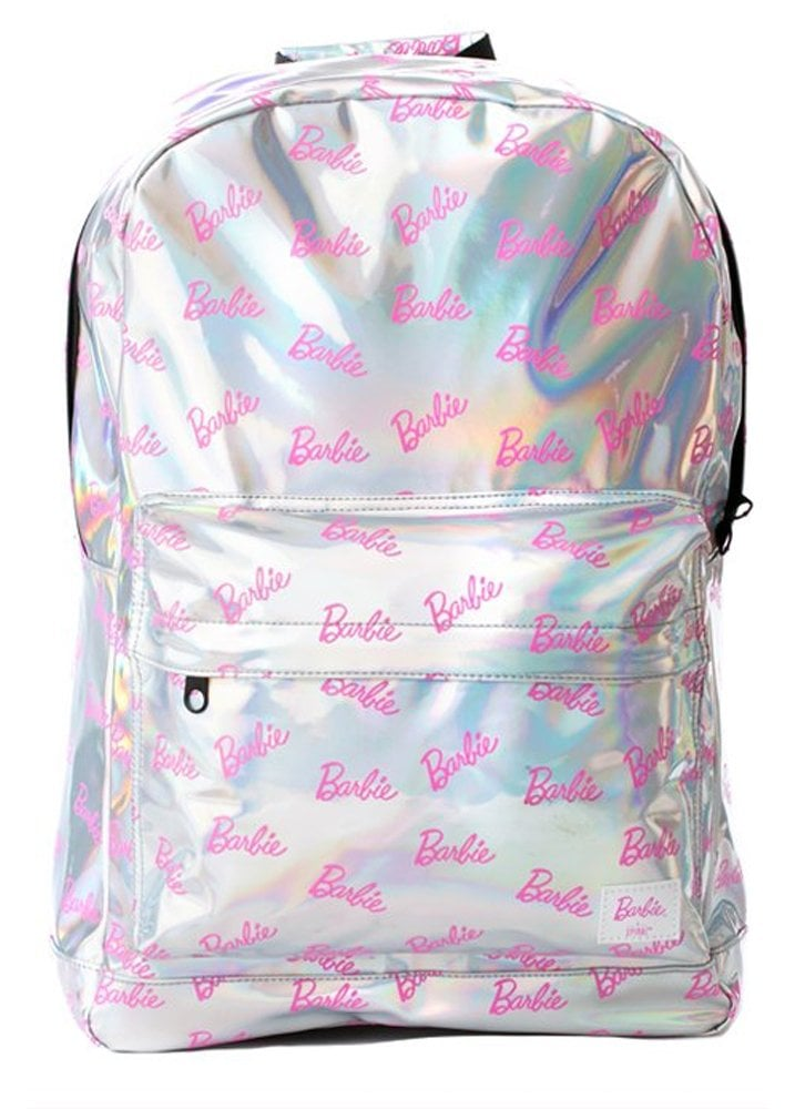 Spiral UK  BARBIExSpiral Barbie Silver Rave OG Backpack   Attitude ... 4efa1fa820